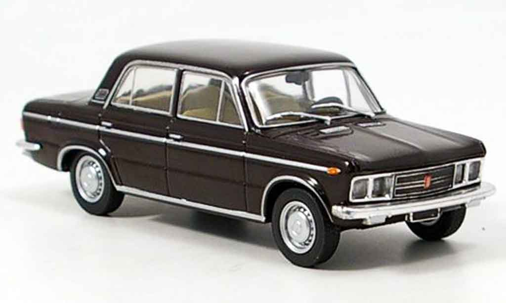 Fiat 125 1/43 Starline Special marron 1968 miniature