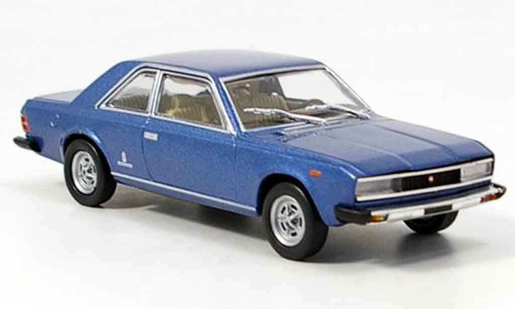 Fiat 130 1/43 Starline Coupe  bleu 1971 miniature