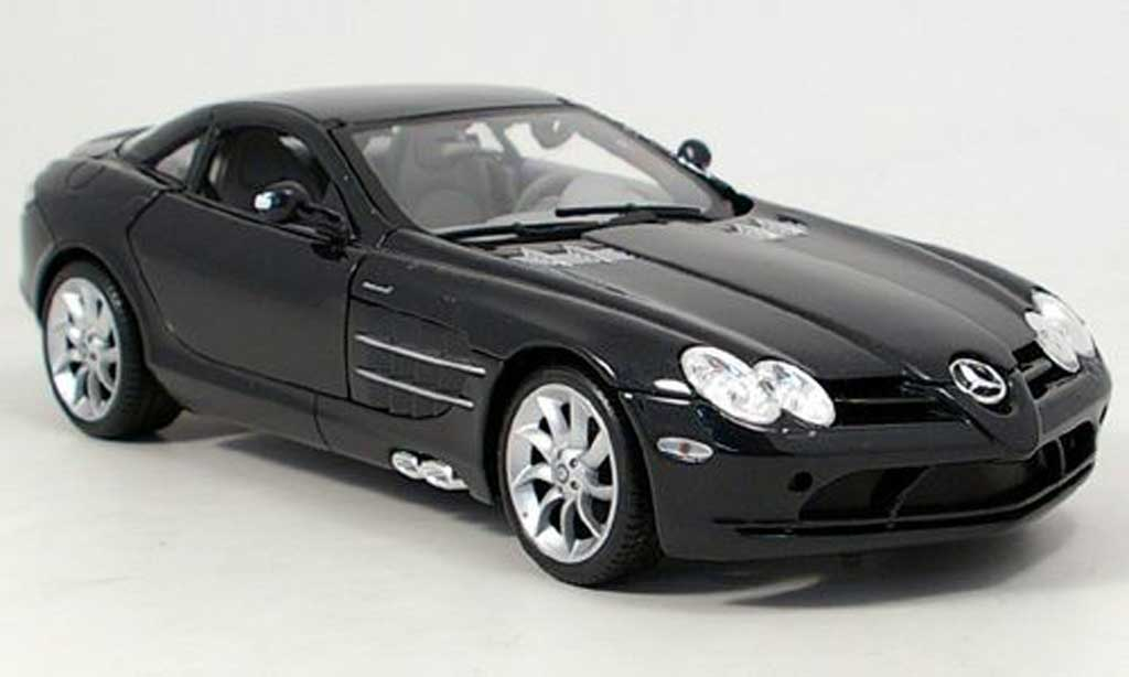 Mercedes SLR 1/18 Maisto mclaren noir 2003 miniature