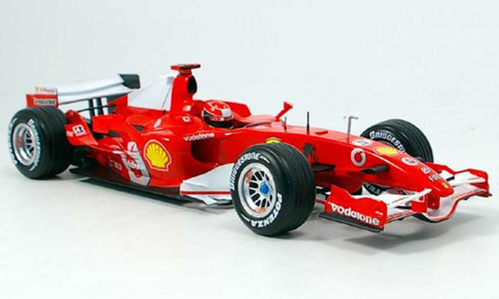 Ferrari F1 F2006 1/18 Hot Wheels 248 f1 m.schumacher canada 2006 miniature