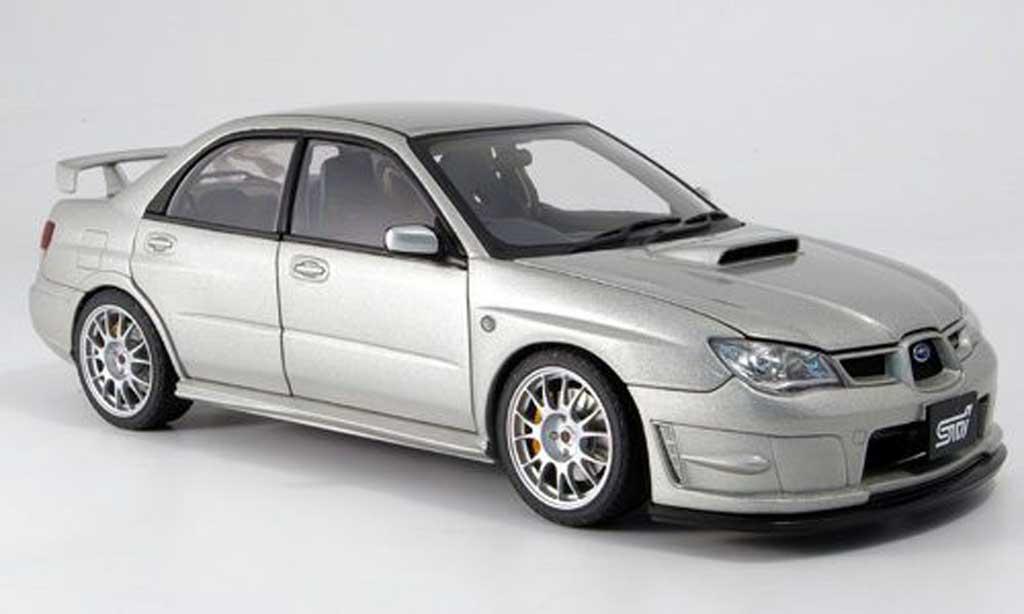 Subaru Impreza WRX 1/18 Autoart (s204) grise miniature