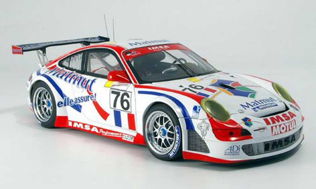 Porsche 997 GT3 RSR 1/18 Autoart 2007 no.76 sieger gt2-klasse le mans miniature