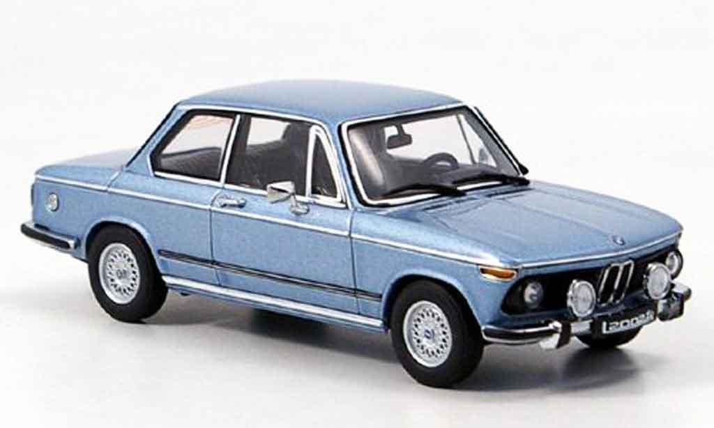 Bmw 2002 Tii 1/43 Autoart tii L bleu 1974 miniature