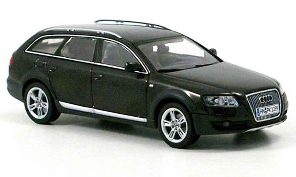 audi a6 allroad miniature grise 2007 autoart 1 43 voiture. Black Bedroom Furniture Sets. Home Design Ideas
