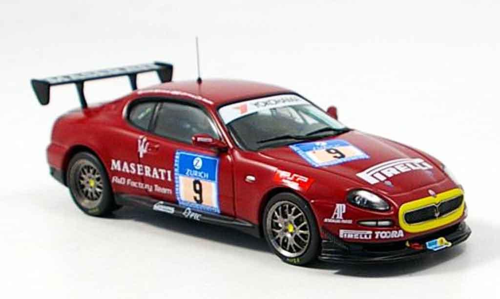 Maserati Grandsport 1/43 IXO trofeo no.9 nurburgring 2006 miniature