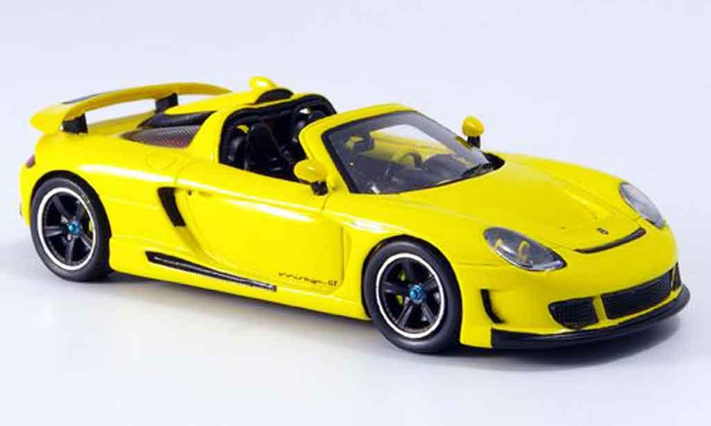 Gemballa Mirage GT 1/43 Spark jaune 2007 miniature