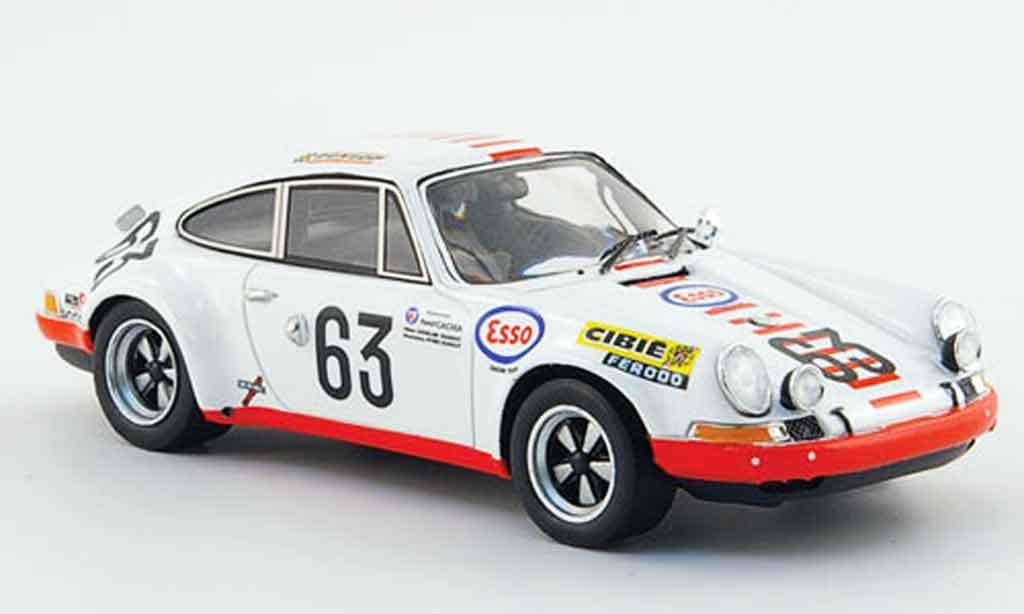 Porsche 911 1/43 Spark S No.63 Le Mans 1971 diecast model cars