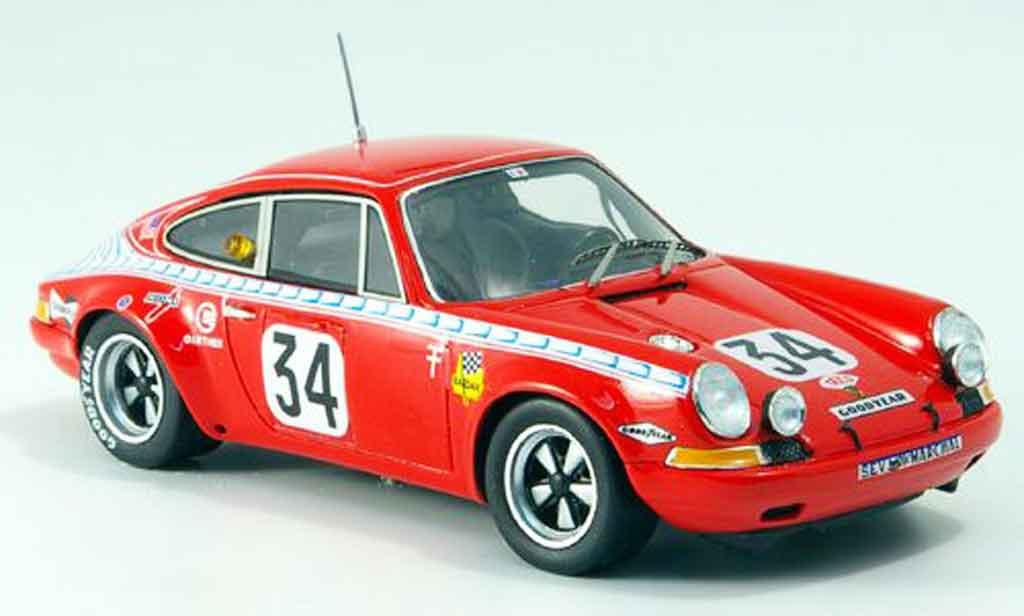 Porsche 911 1/43 Spark S No.34 Le Mans 1971 miniature