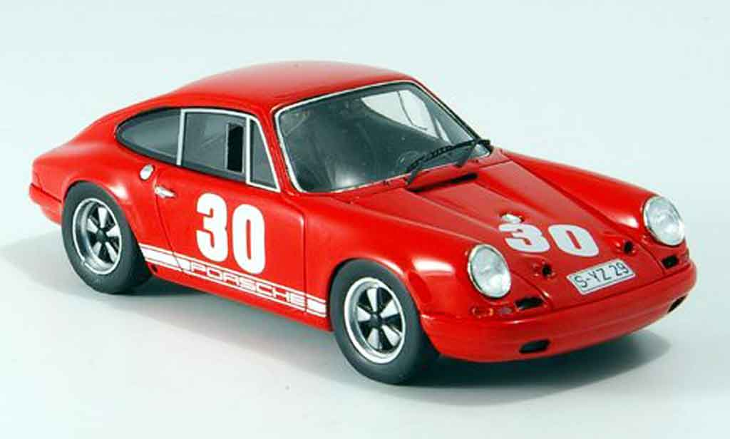 Porsche 911 1/43 Spark R No.30 Mugello 1967 diecast model cars