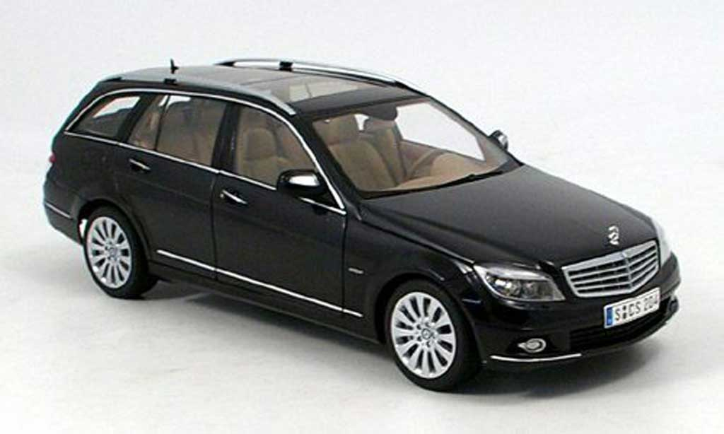 Mercedes Classe C 1/18 Autoart T-Modell (S204) noire Elegance miniature