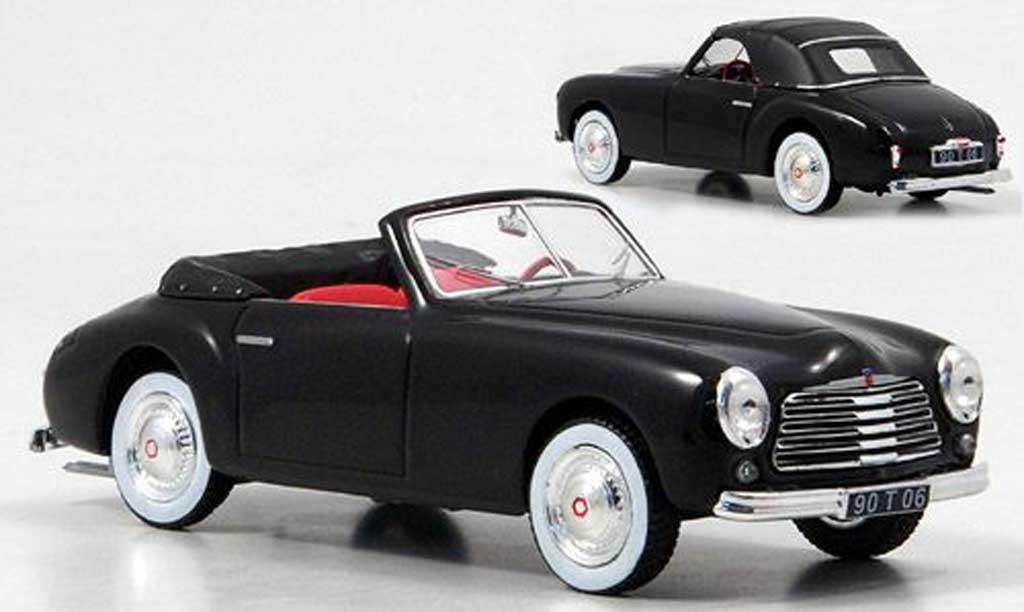 Simca 8 sport 1/43 Norev Cabrio noire 1951 miniature