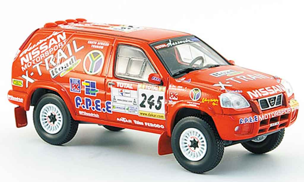 Nissan X Trail 1/43 Norev No.245 Rally Dakar 2002 miniature