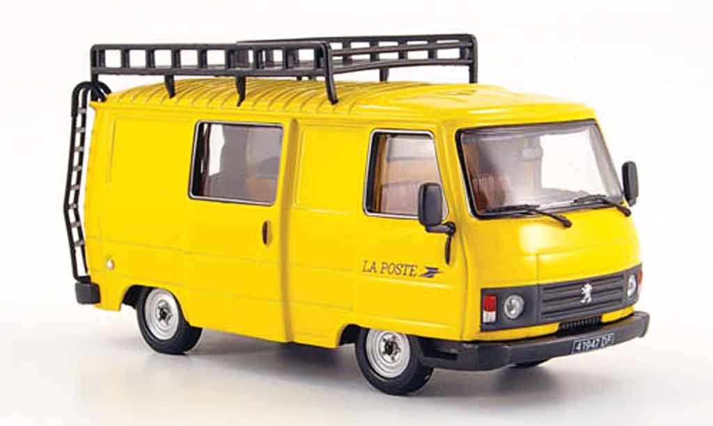 Peugeot J9 La Poste Fr 1987 Norev Diecast Model Car 1 43