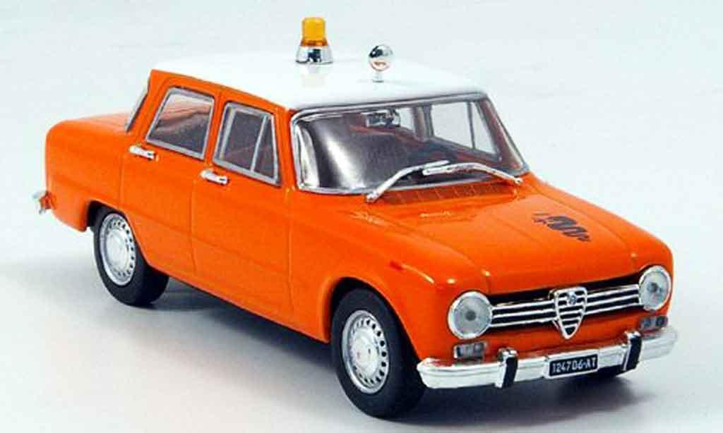 Alfa Romeo Giulia 1300 1/43 Norev ti secours routier 1969 miniature