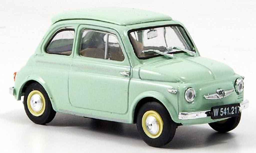 Steyr Puch 500 1/43 Brumm D grun 1959 miniature