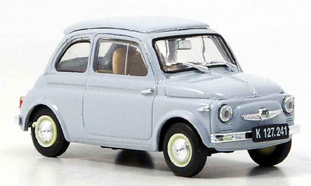 Steyr Puch 500 1/43 Brumm D grise 1959 miniature