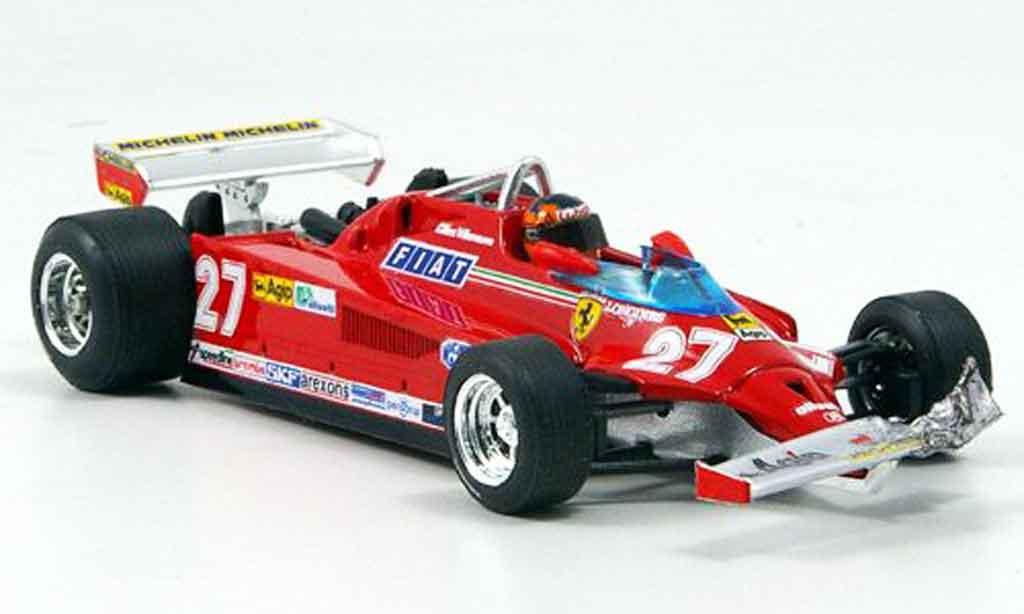 Ferrari 126 1981 1/43 Brumm CK turbo villeneuve runde 39 54 gp kanada miniature