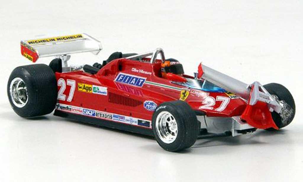 Ferrari 126 1981 1/43 Brumm CK Turbo Villeneuve Runde 55-56 GP Kanada miniature