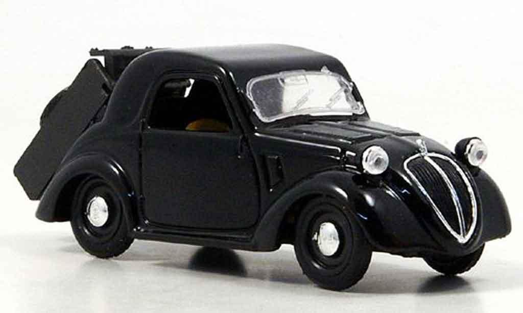 fiat topolino schwarz 2007 brumm modellauto 1 43 kaufen. Black Bedroom Furniture Sets. Home Design Ideas