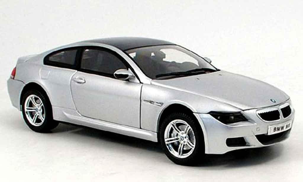 Bmw M6 E63 1/18 Ricko gray