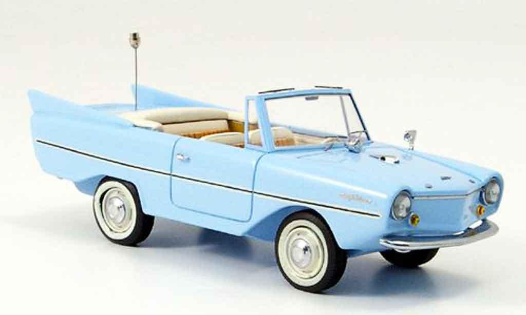 Amphicar Cabrio 1/43 Neo bleu 1961 miniature