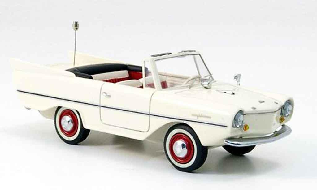 Amphicar Cabrio 1/43 Neo creme blanche 1961 miniature