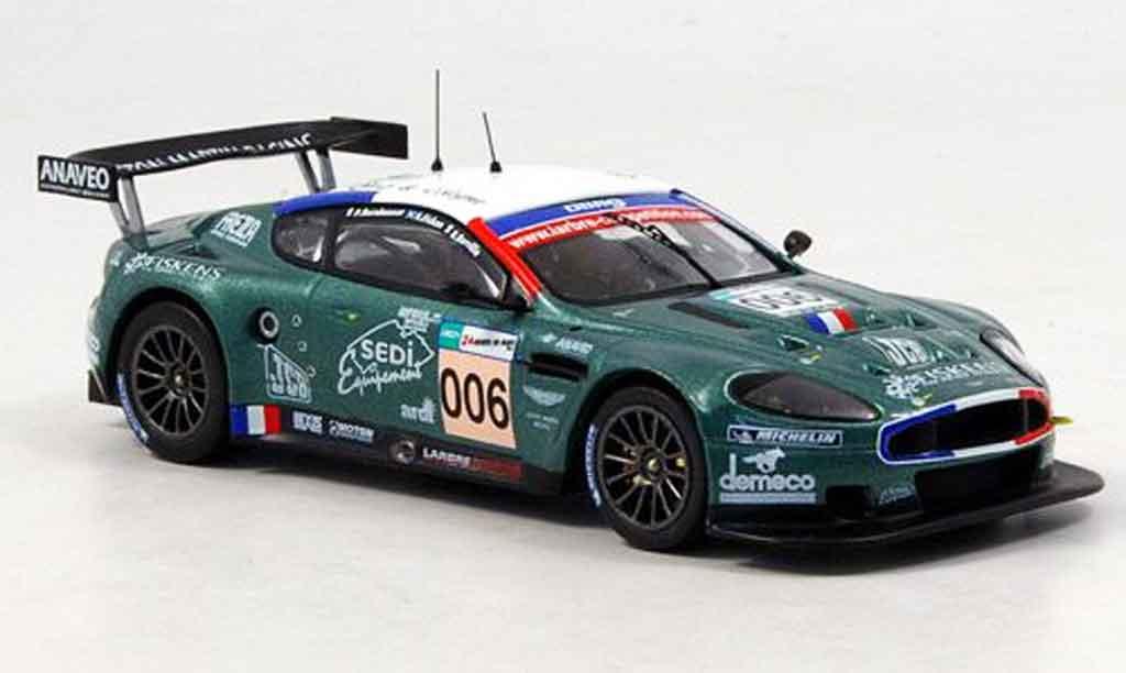Aston Martin DBR9 1/43 IXO no.006 le mans 2007 miniature