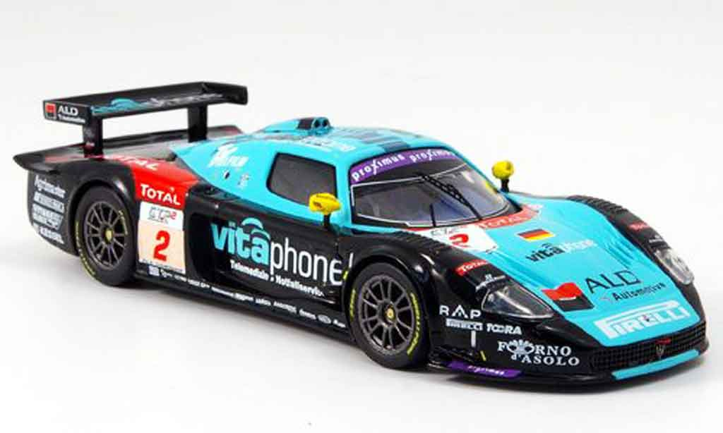 Maserati MC12 1/43 IXO no.2 vitaphone fia gt spa 2006 miniature