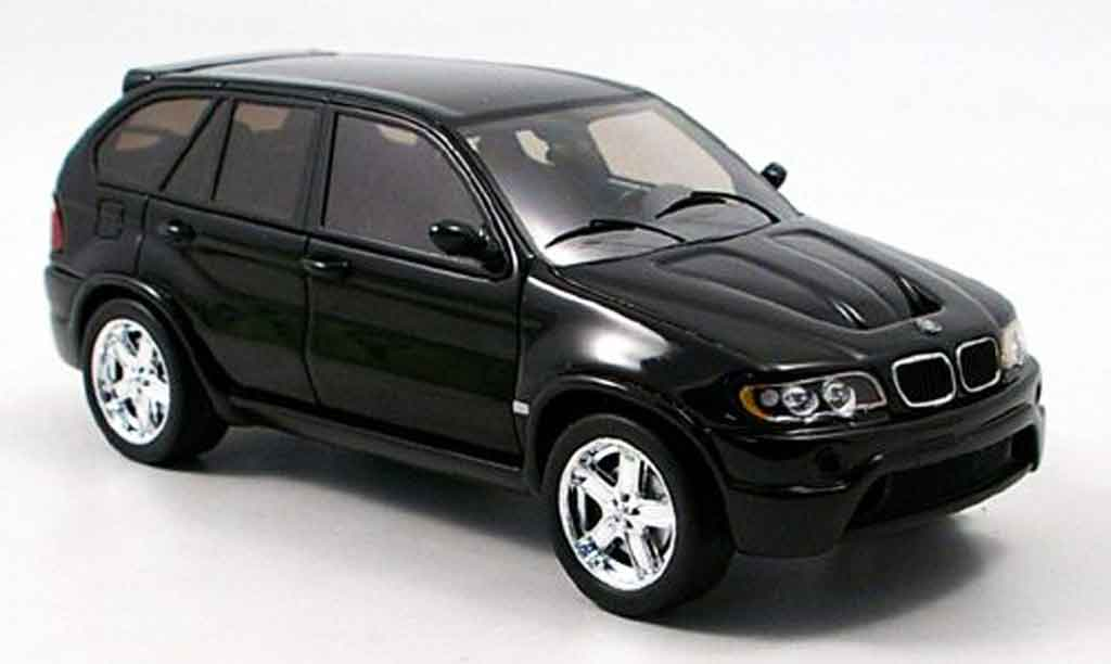Bmw X5 E53 1/43 Spark black diecast model cars