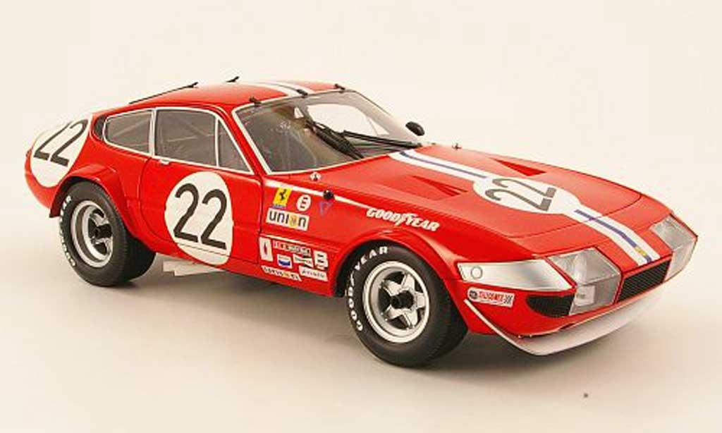 Ferrari 365 GTB/4 1/18 Kyosho competizione no.22 nart 1973 miniature