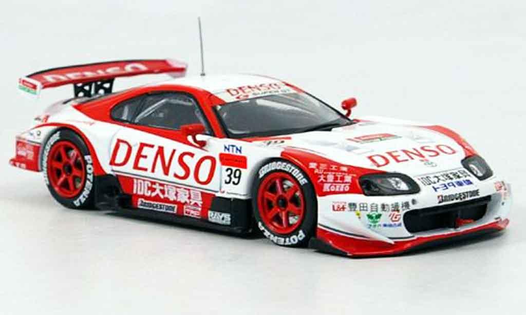 Toyota Supra 1/43 Ebbro denso sard no.39 2005 diecast model cars