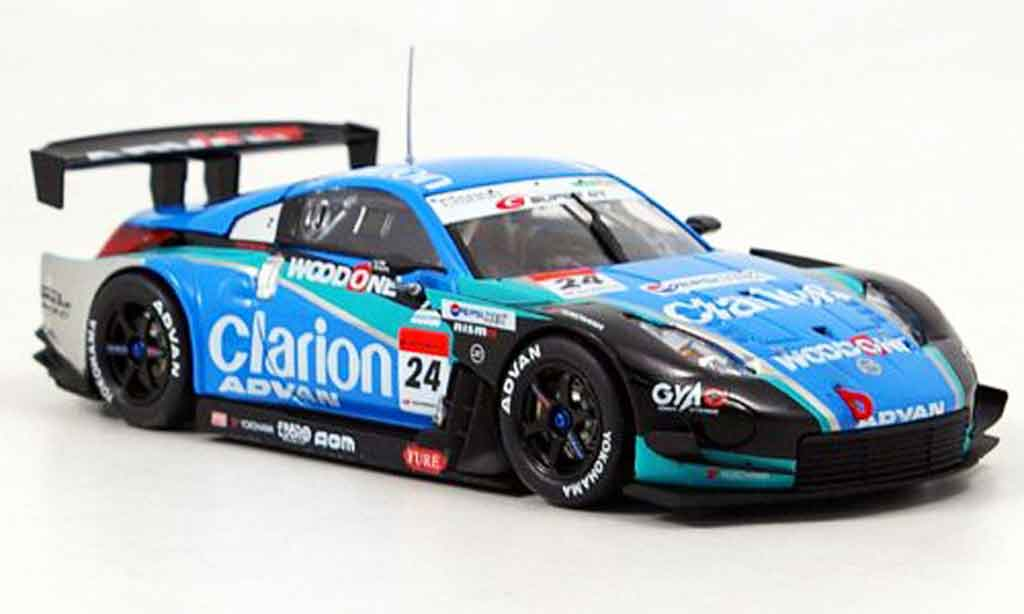 Nissan 350Z 1/43 Ebbro JGTC Woodone Advan Z SuperGT No.24 2007 miniature