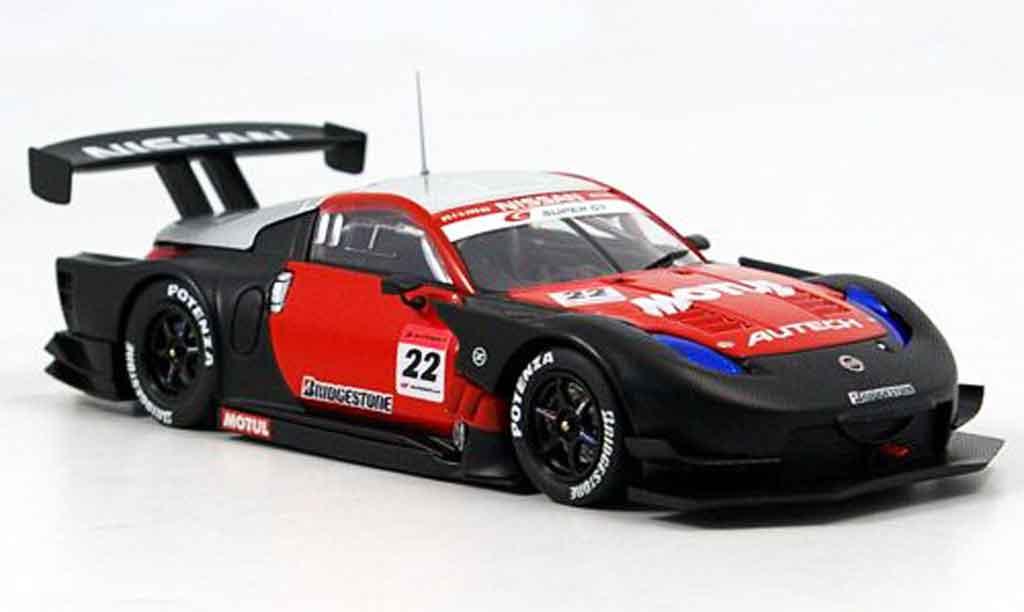 Nissan 350Z 1/43 Ebbro JGTC Motul Autech Z Test Car No.22 2007 miniature