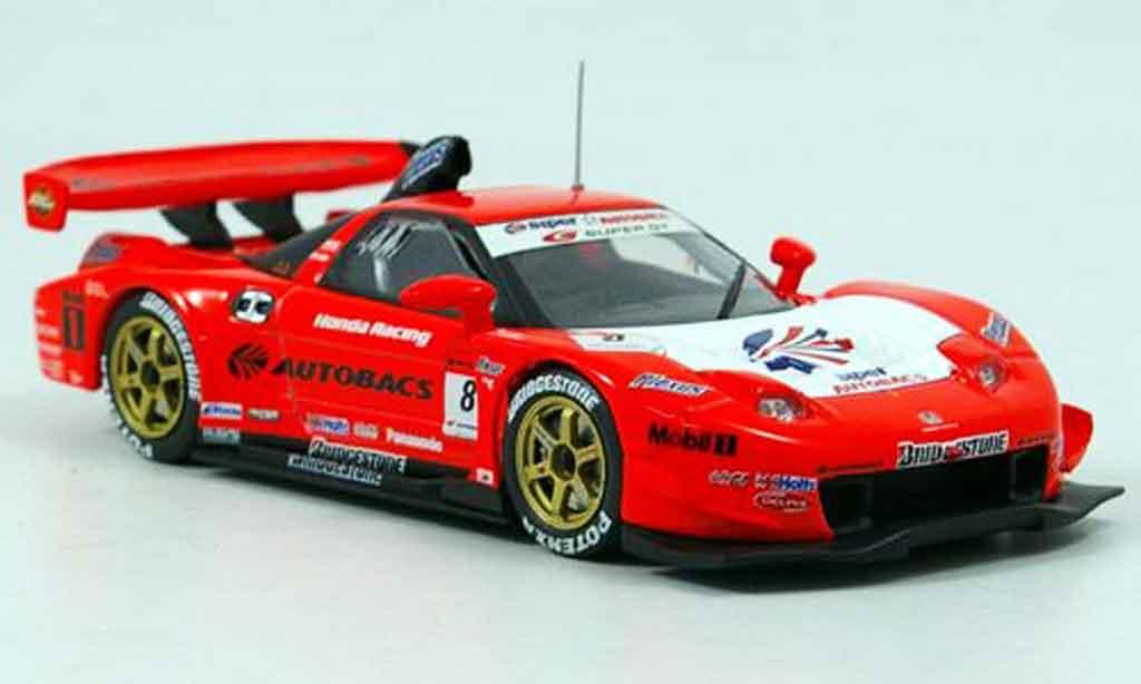 Honda NSX Super GT 1/43 Ebbro No.8 Arta 2005 miniature