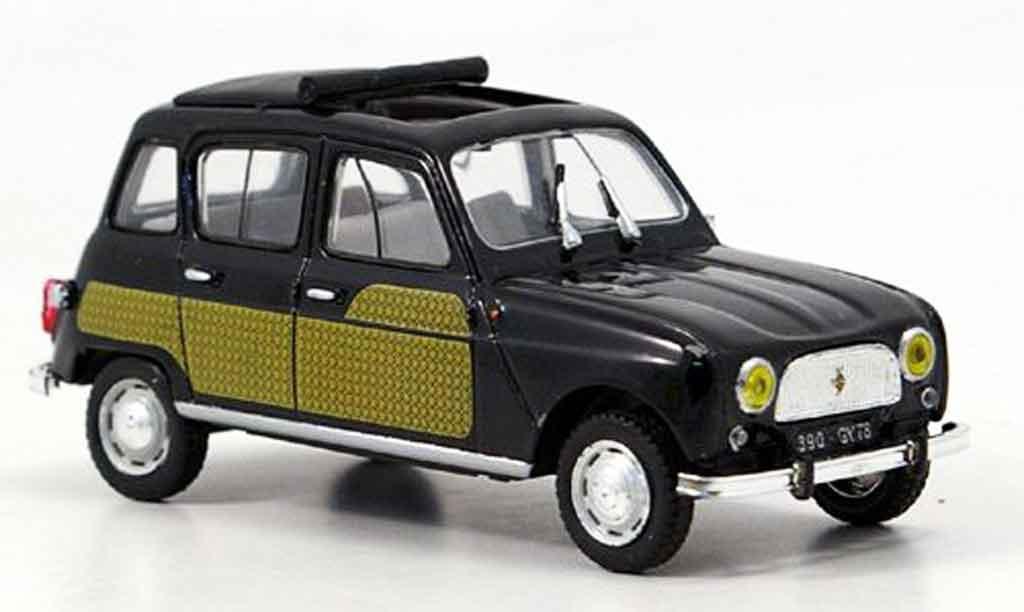 Chevy Charger Renault 4L miniature parisienne noire 1964 MCW 1/43 ...