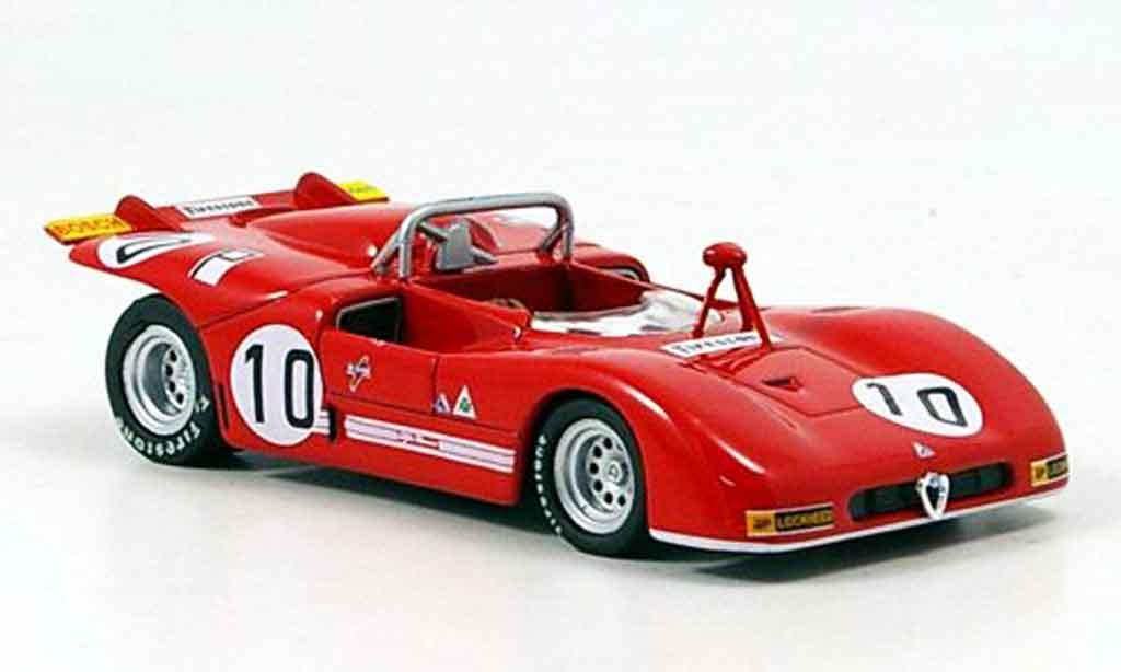 Alfa Romeo 33.3 1971 1/43 M4 no.10 n.galli nurburgring miniature