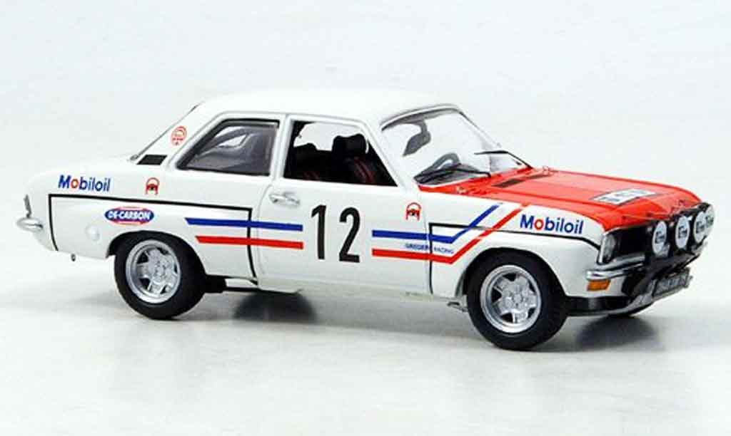 Opel Ascona A 1/43 Schuco rallye no.12 greder racing miniature