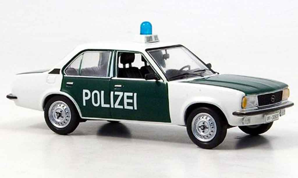 opel ascona b police schuco modellauto 1 43 kaufen. Black Bedroom Furniture Sets. Home Design Ideas