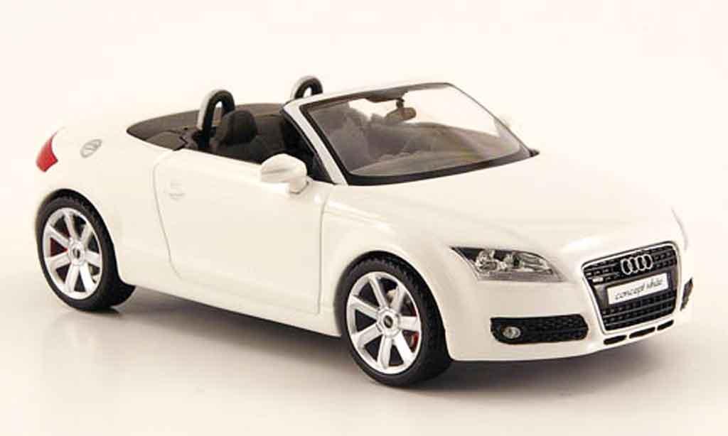 audi tt roadster miniature blanche schuco 1 43 voiture. Black Bedroom Furniture Sets. Home Design Ideas