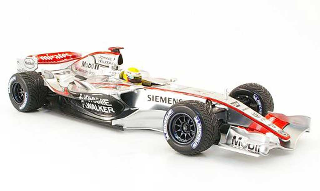 Mercedes F1 1/18 Minichamps mclaren test hamilton 2006 miniature
