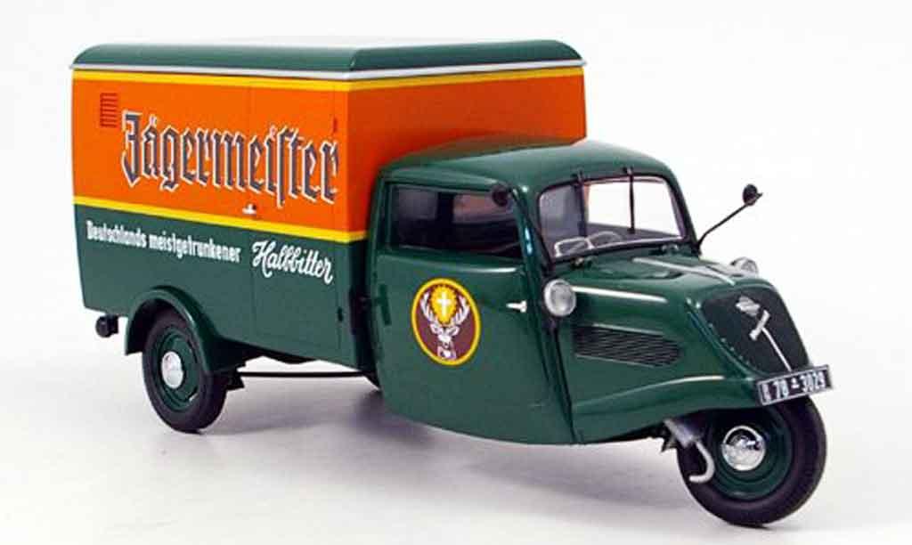 Tempo Hanseat 1/18 Minichamps kasten jagermeister linkslenker (lhd) 1952 miniature