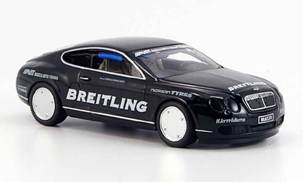 Bentley Continental GT 1/43 Minichamps World Record Car on Ice 2007 miniature