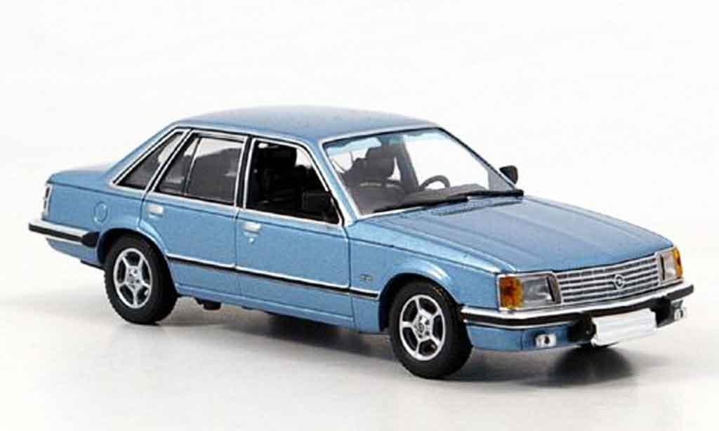 Opel Senator 1/43 Minichamps bleu 1980 miniature