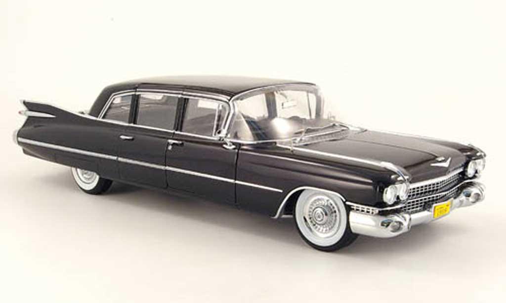 Cadillac Series 75 1/18 Precision limousine noire 1959 miniature