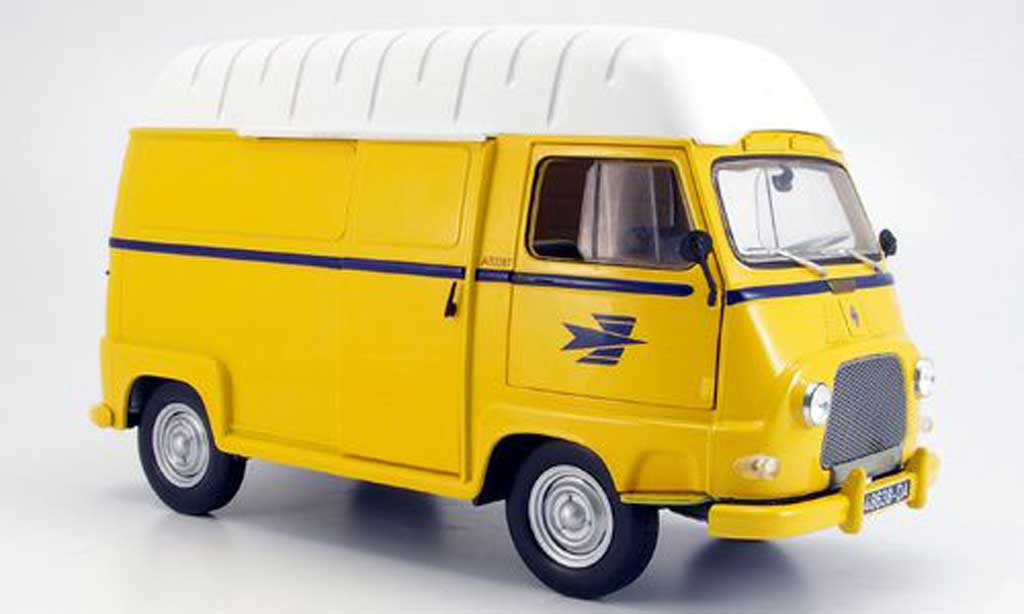 renault estafette miniature hochdach lieferwagen la poste 1974 norev 1 18 voiture. Black Bedroom Furniture Sets. Home Design Ideas