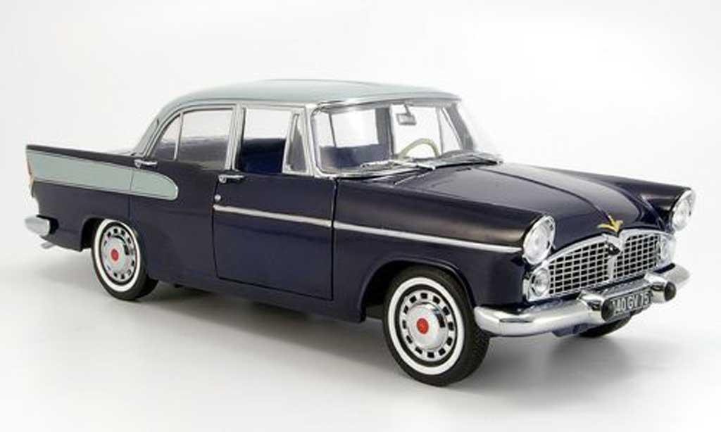 Simca Beaulieu 1/18 Norev bleu/grise 1958 miniature
