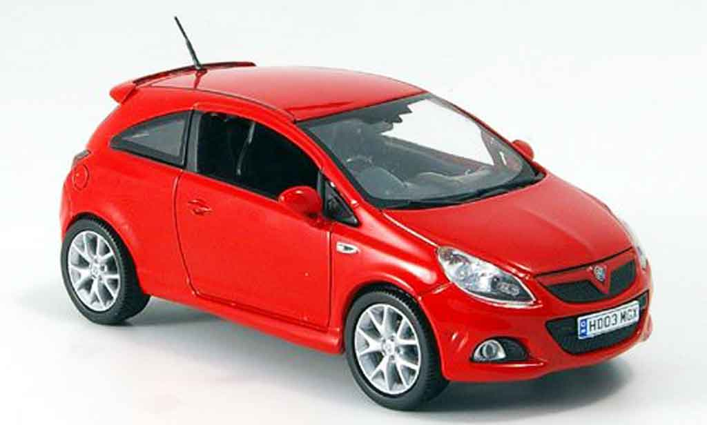 Opel Corsa 1/43 Norev VXR rouge 2007 miniature