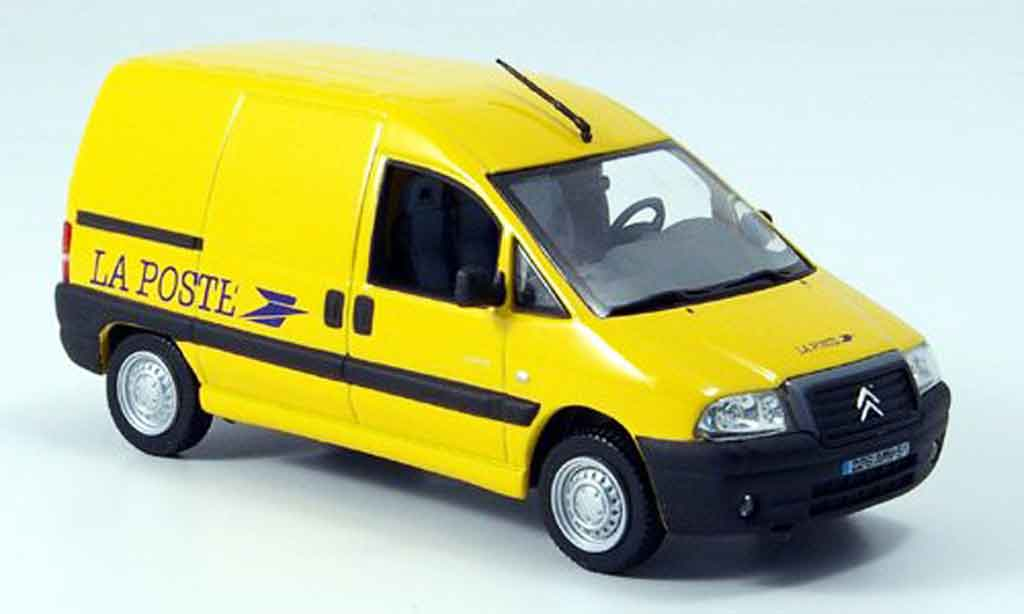 citroen jumpy miniature la poste fr 2004 norev 1 43 voiture. Black Bedroom Furniture Sets. Home Design Ideas