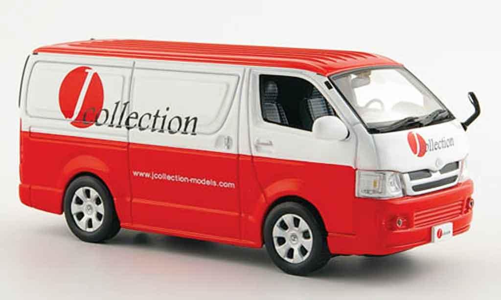 Toyota Hiace 1/43 J Collection van j collection 2007 miniature