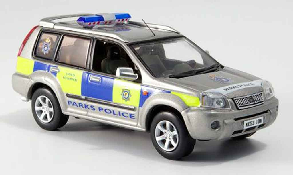 Nissan X Trail 1/43 J Collection Kensingotn Chelsea Park Police 2006 miniature